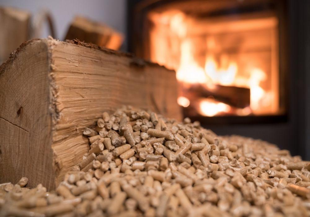 Poêle à bois et granulés
